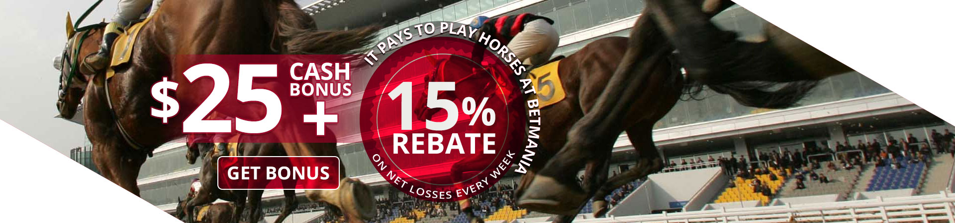 Horse Rebate