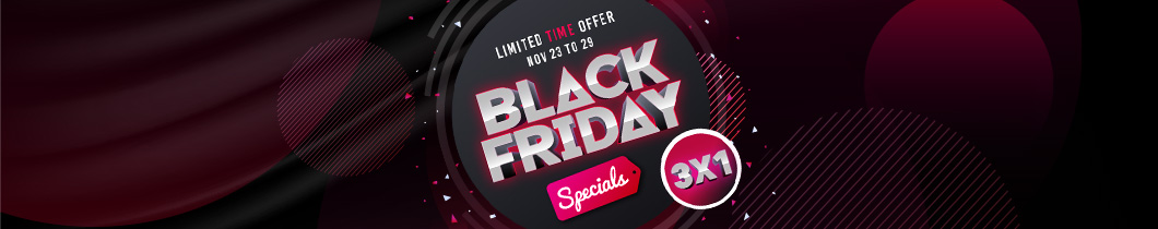 Black Friday 3x1 Special