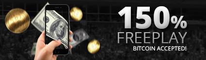 150% Free Play Bonus