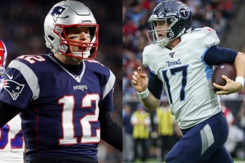 Patriots vs. Titans Betting Odds. NFL Wild Card Games
