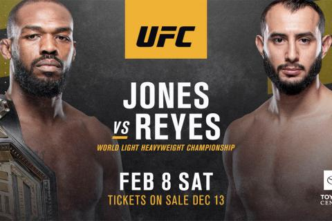 UFC 247 Betting Odds: Jon Jones vs. Dominick Reyes