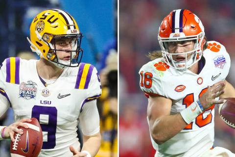 LSU vs. Clemson Odds, 2020 College Football Playoff National Championship