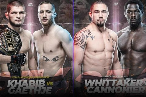 UFC 254 Odds: Can Gaethje Beat Khabib?