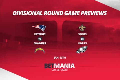 2019 NFL Playoffs Divisional Round Betting Odds