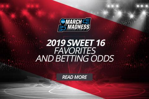 2019 Sweet 16 Favorites and Betting Odds