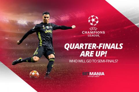 2019 Champions League Quarterfinals Betting Odds