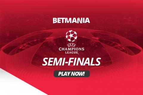 2019 UEFA Champions League Semi Finals Betting Odds