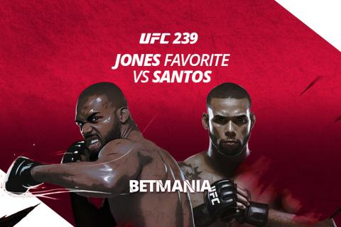UFC 239: Jones vs Santos Betting Odds, The GOAT Is Favorite Against Marreta